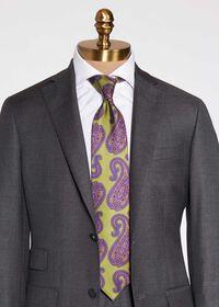 Paisley Print Silk Tie, thumbnail 2