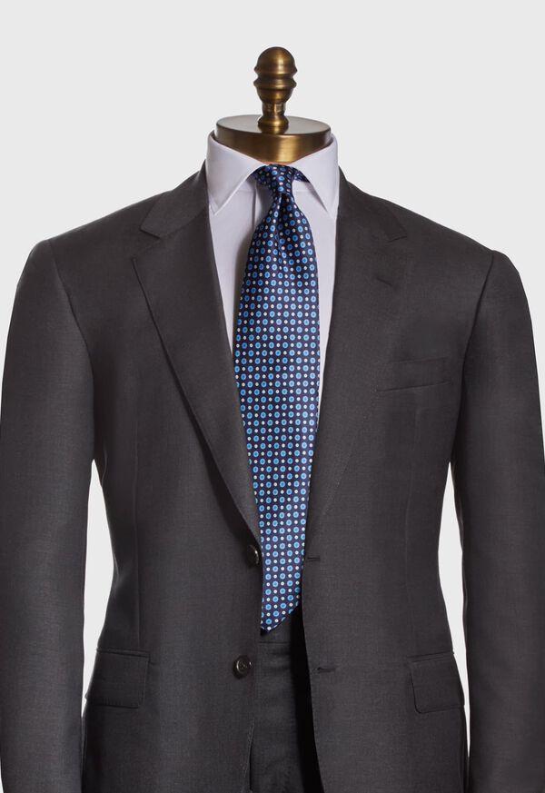 Silk Micro Medallion Tie, image 2