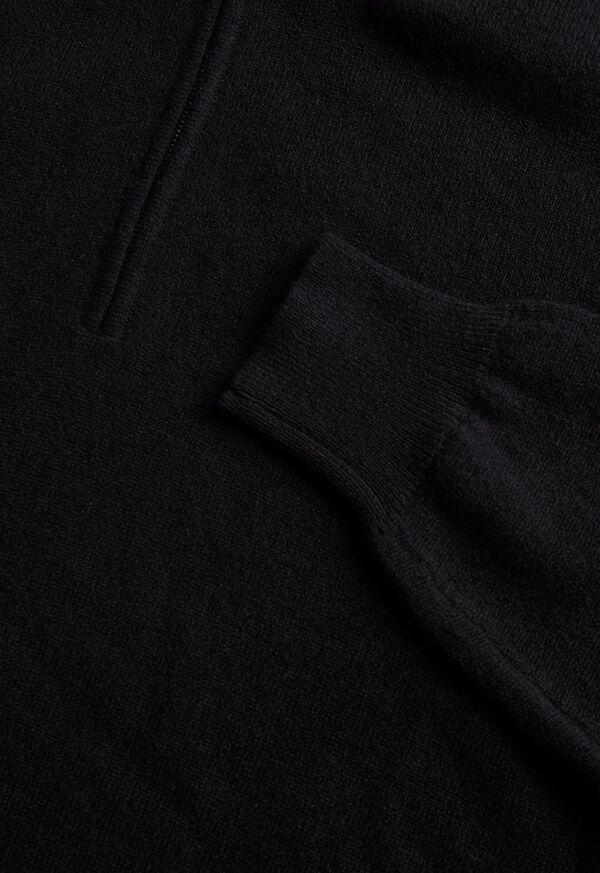 Cashmere Quarter Zip Sweater, image 2