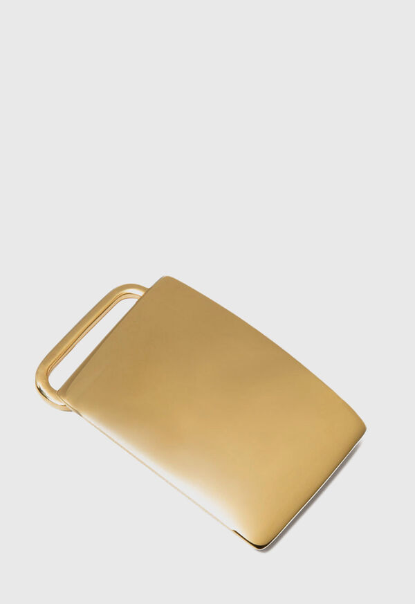 Gold Vermeil Belt Buckle, image 1