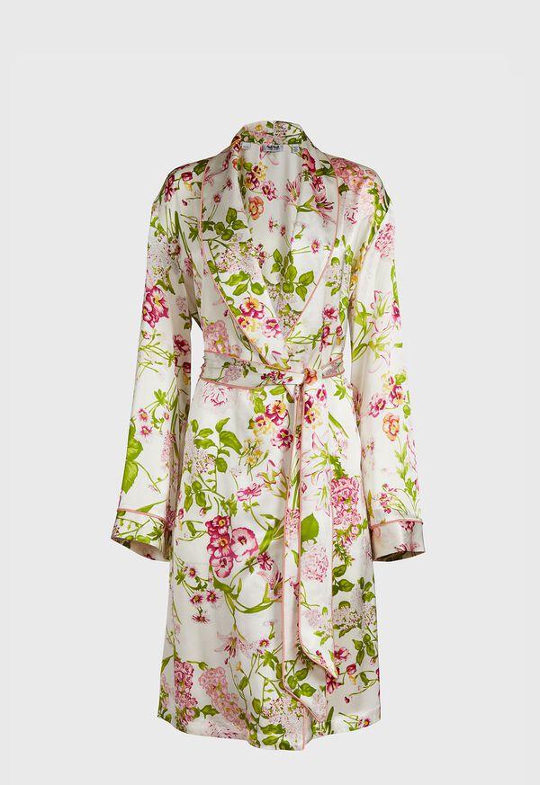 Geranium Silk Robe, image 1