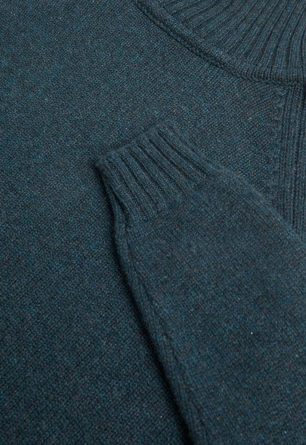 Cashmere Raglan Sleeve Turtleneck, image 2