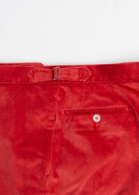 Slim Fit Cotton Velvet Pant, thumbnail 3