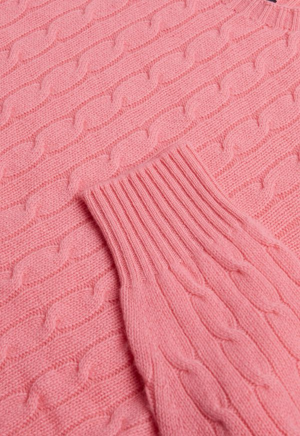 Cable Knit Pullover Sweater, image 3