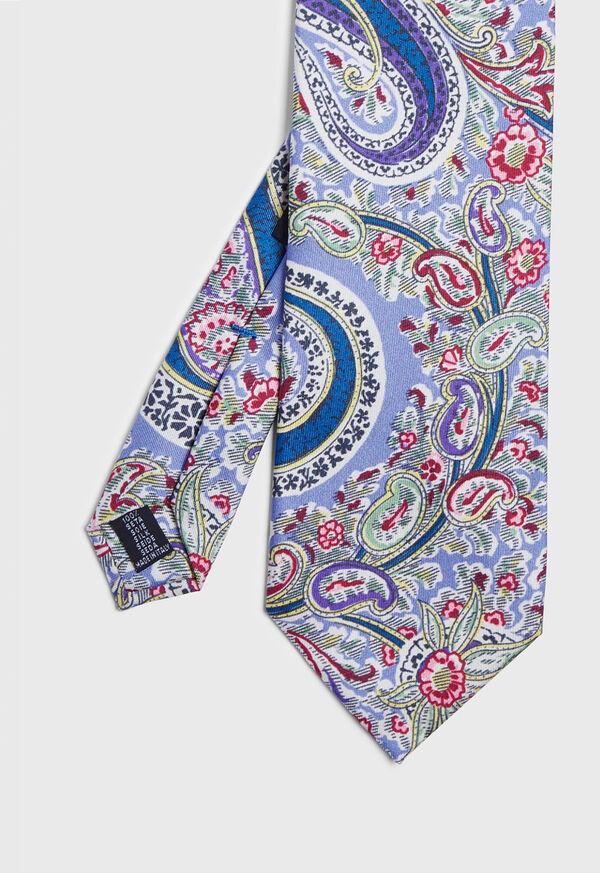 Printed Master Paisley Tie, image 1