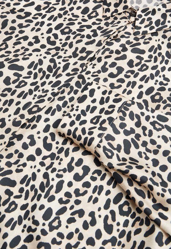 Silk Animal Print Blouse, image 2