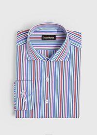 Multi Stripe Sport Shirt, thumbnail 1