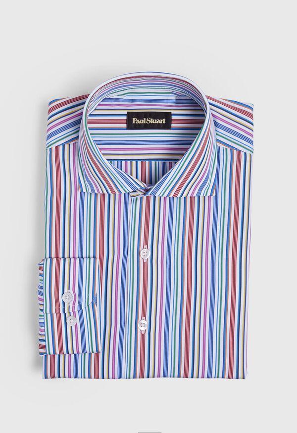 Multi Stripe Sport Shirt, image 1