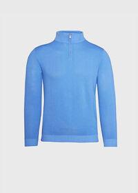 Pique Stitch 1/4 Zip Sweater, thumbnail 1