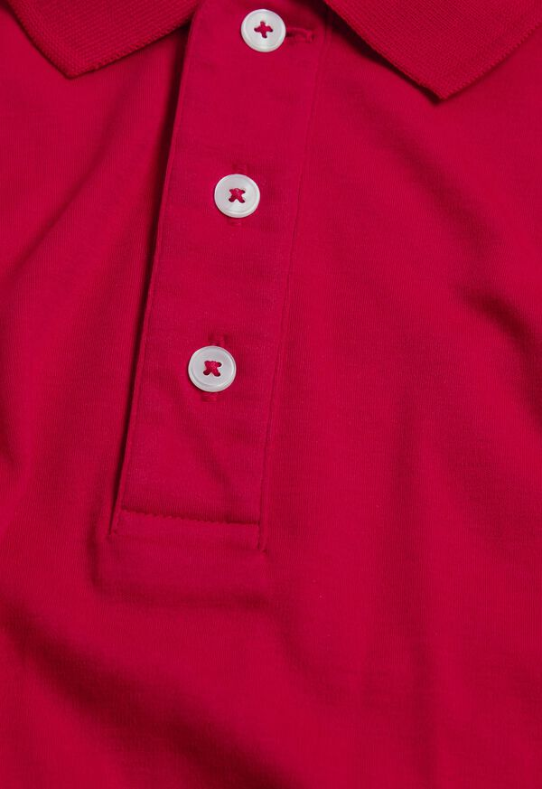 Pima Cotton Interlock Polo, image 11