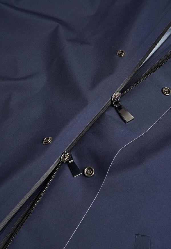 Navy Hooded Waterproof Jacket, image 4
