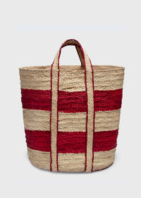 Striped Beach Tote, thumbnail 1