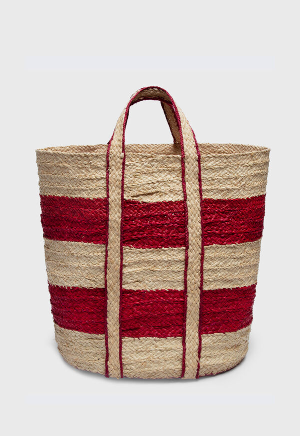 Striped Beach Tote, image 1