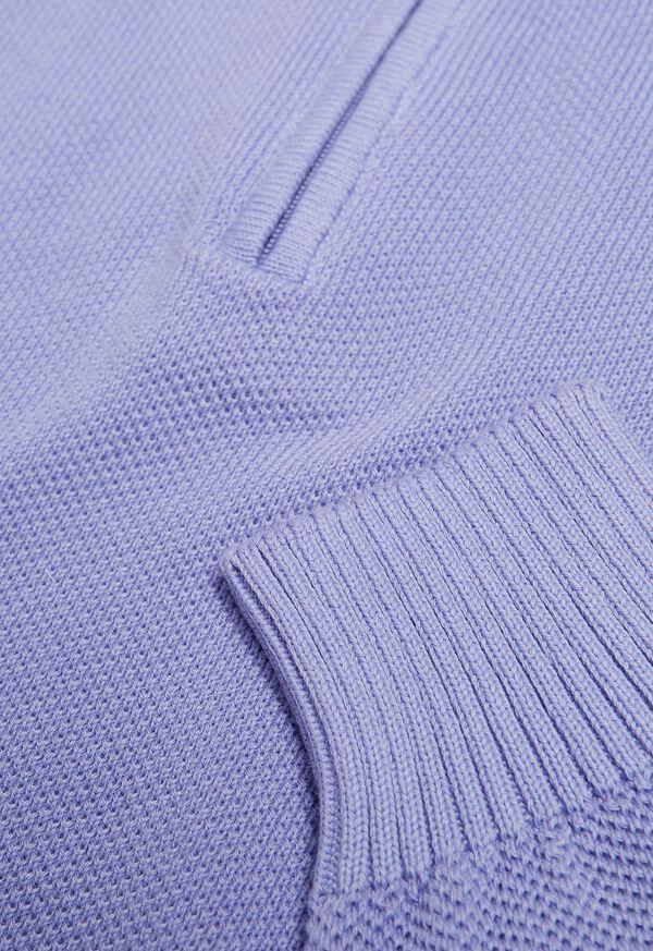 Pique Stitch 1/4 Zip Sweater, image 2