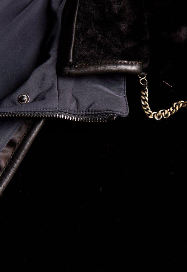 Shearling Rain Jacket, image 3