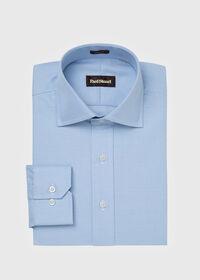 Slim Fit Blue Royal Oxford Cotton Dress Shirt, thumbnail 1