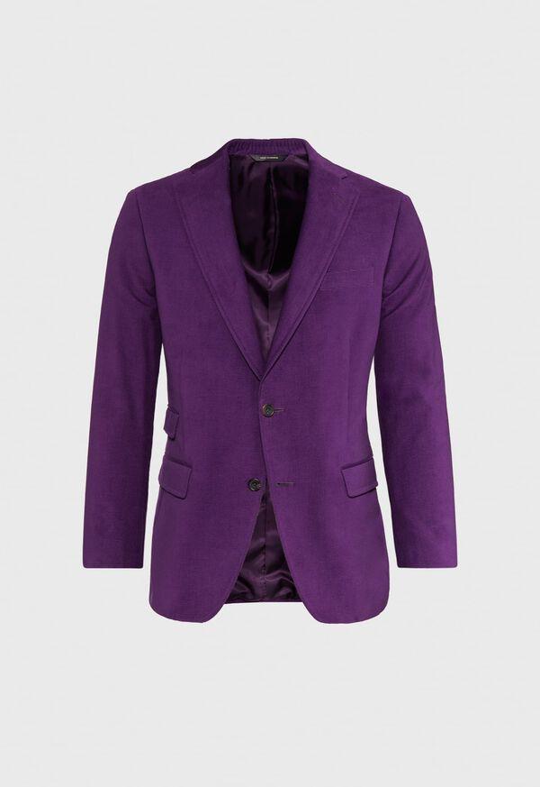 Plum Corduroy Sport Jacket, image 1