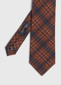 Wool Plaid Tie, thumbnail 1