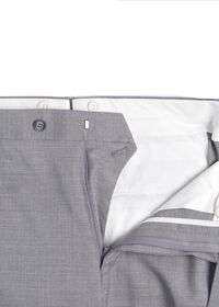 Light Grey Mini Houndstooth Wool Blend suit, thumbnail 6