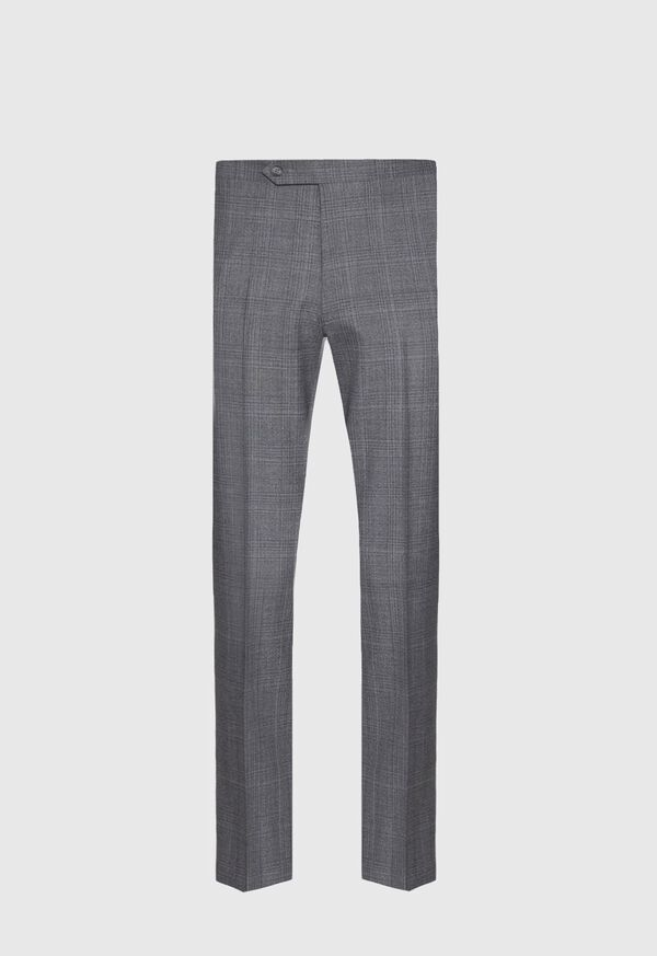 Grey Plaid Wool Suit, image 5