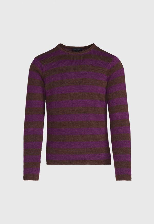 Two Tone Stripe Sweater