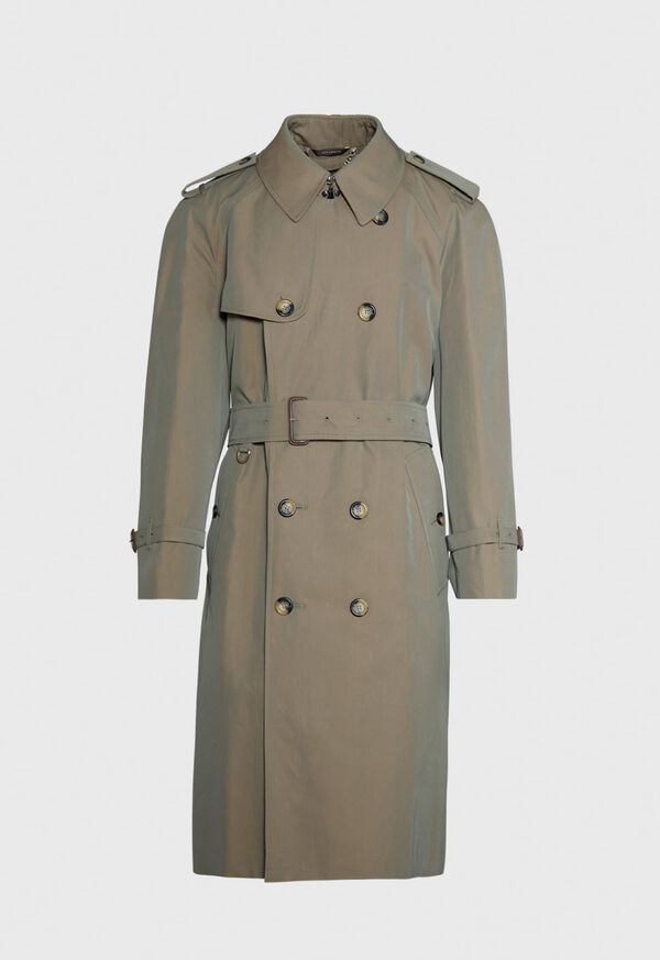 Double Breasted Classic Trench, image 1