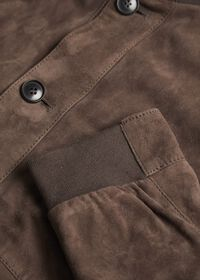 Suede Bomber Jacket, thumbnail 3
