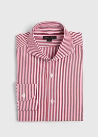 Cotton Stripe Collar Dress Shirt, thumbnail 1