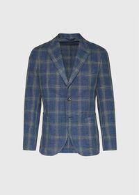 Plaid Soft Jacket, thumbnail 1