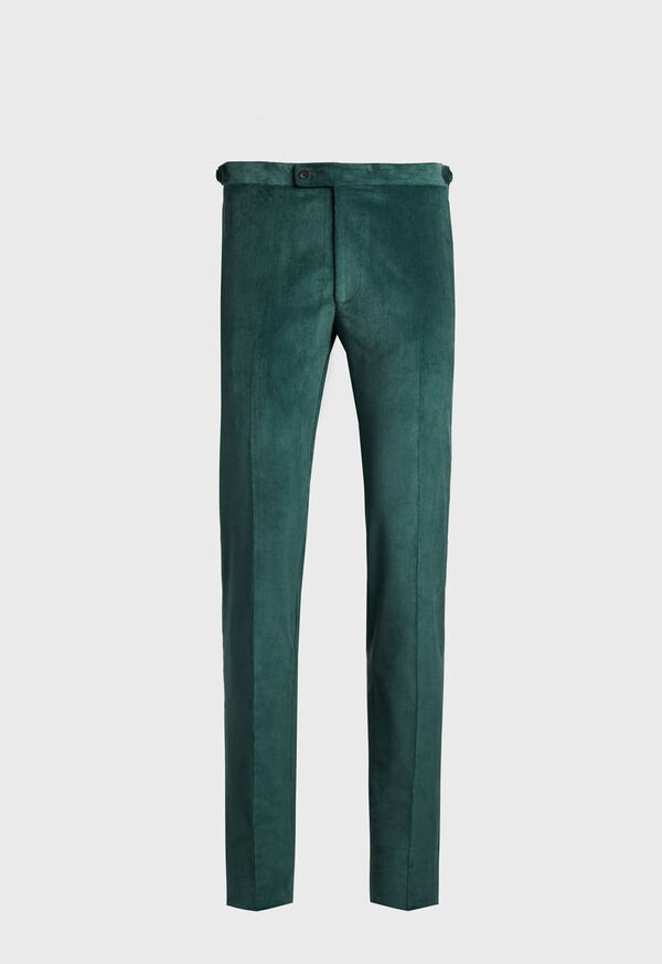 Flat Front Corduroy Trouser, image 1