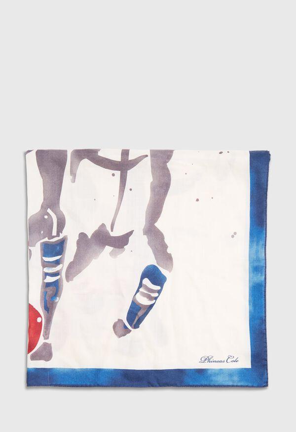 Polo Printed Scarf, image 3