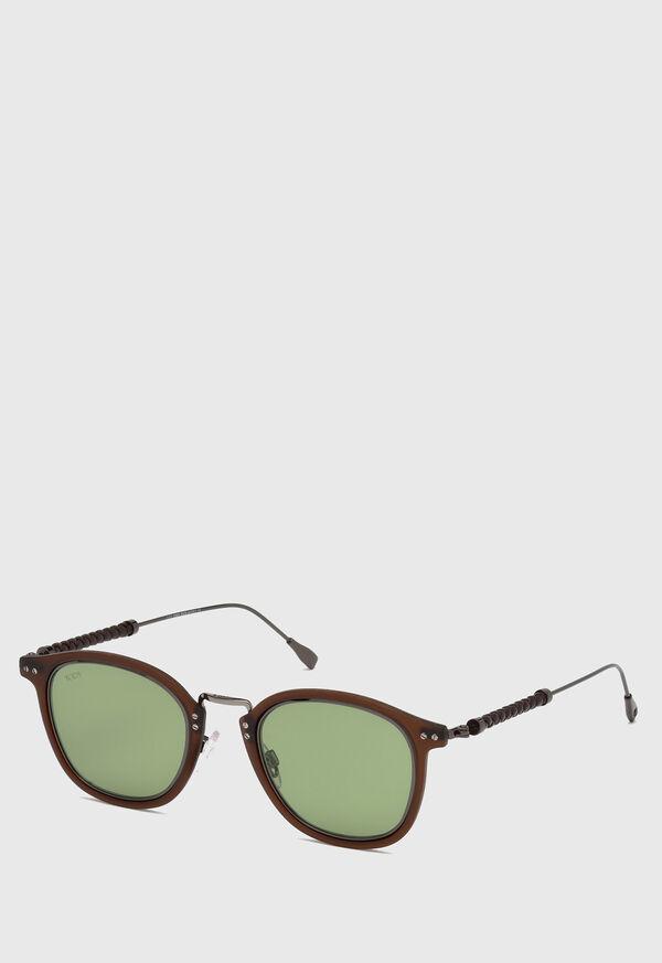 Tod's Matte Brown Sunglasses, image 1