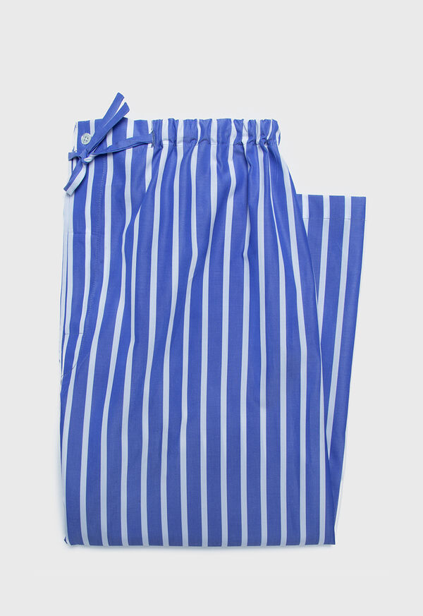 Striped Cotton Beach Pant, image 1