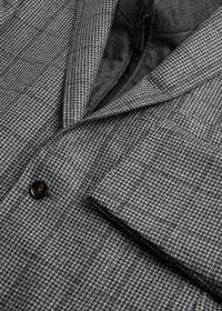 Houndstooth Travel Jacket and Built-in Vest, thumbnail 2