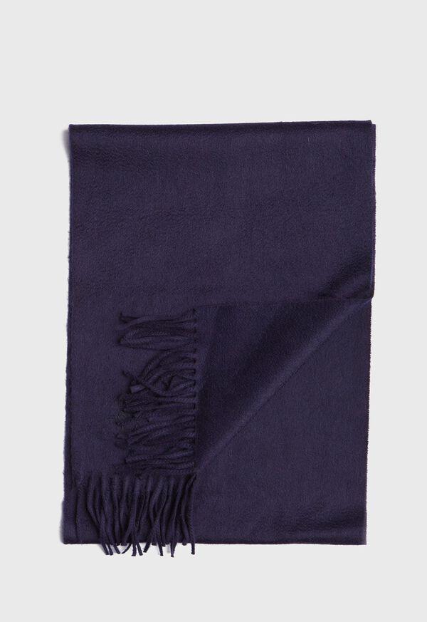 Oversized Cashmere Logo Scarf, image 1