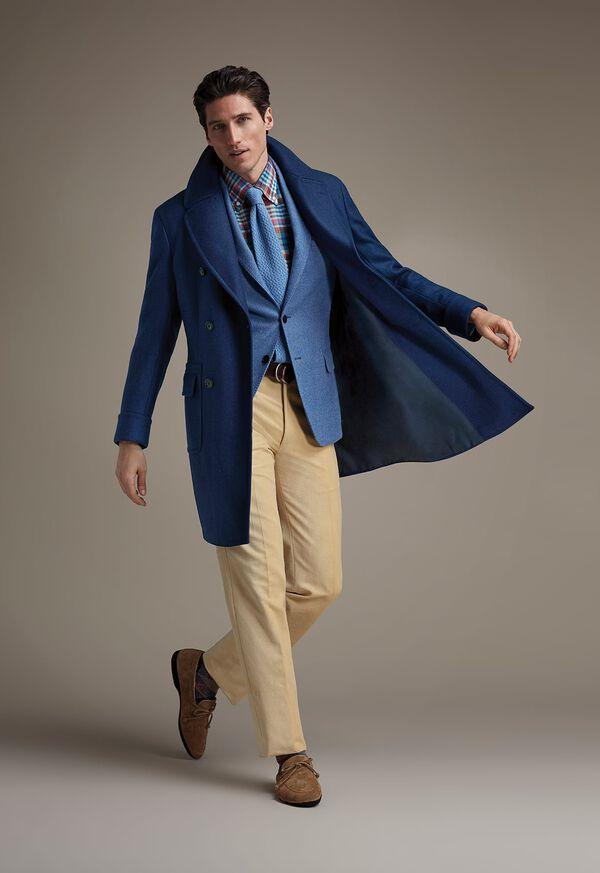 Double Breasted Coat Paul Stuart Catalog FW21, image 1