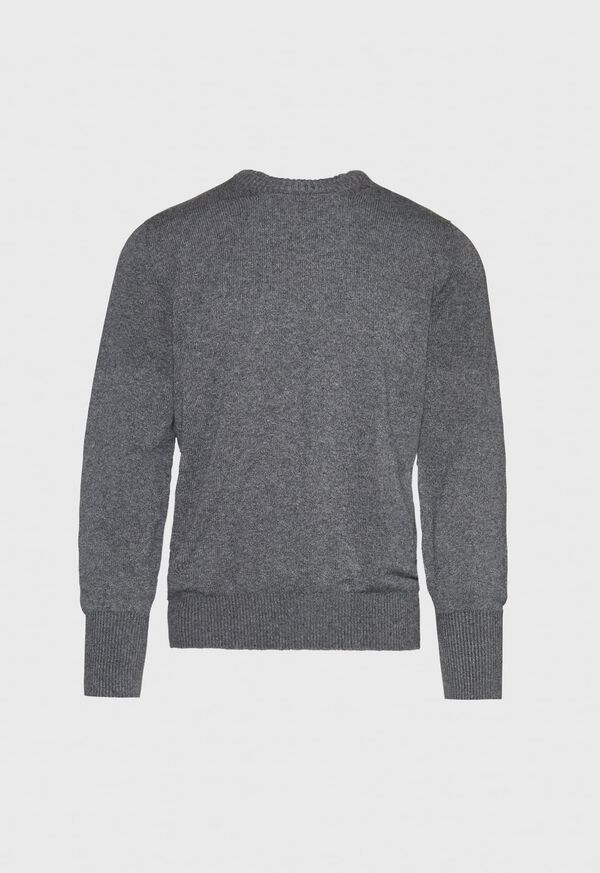 Scottish Cashmere Crewneck Sweater, image 1