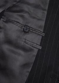 Black and White Chalk Stripe Suit, thumbnail 4