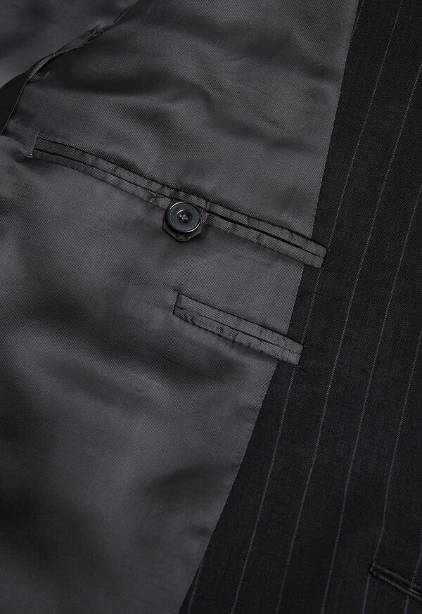 Black and White Chalk Stripe Suit, image 4