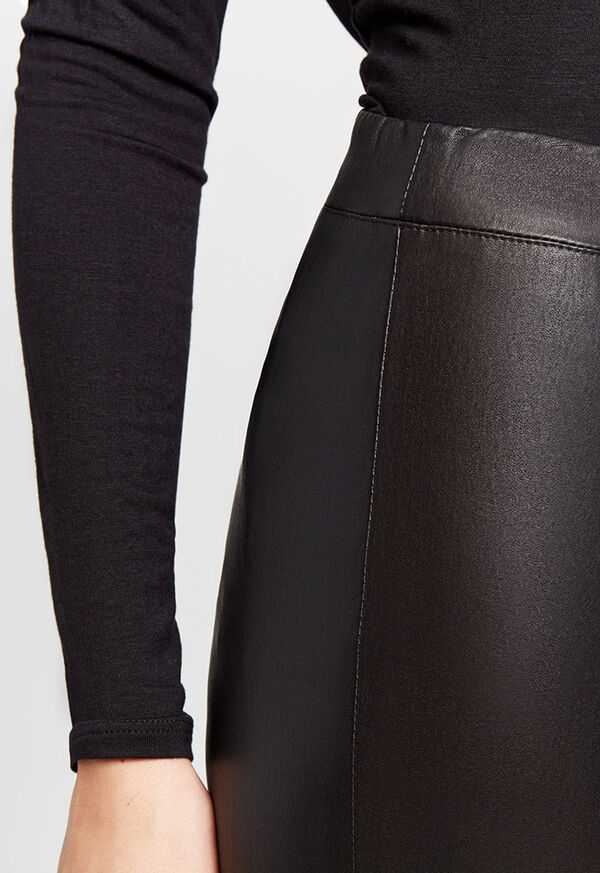 Stretch Leather Legging, image 7