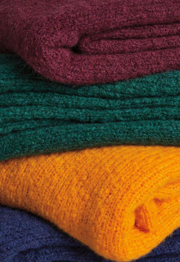 FW21 Paul Stuart Catalog Boucle Crewneck Sweater Pile , image 1