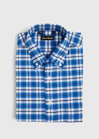 Big Plaid Flannel Sport Shirt, thumbnail 1