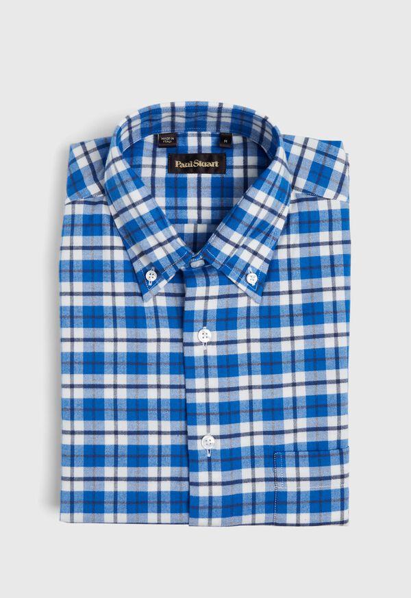 Big Plaid Flannel Sport Shirt, image 1