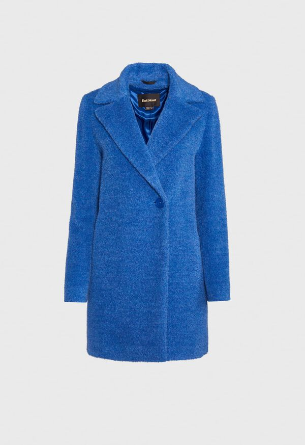 One Button Collar Coat