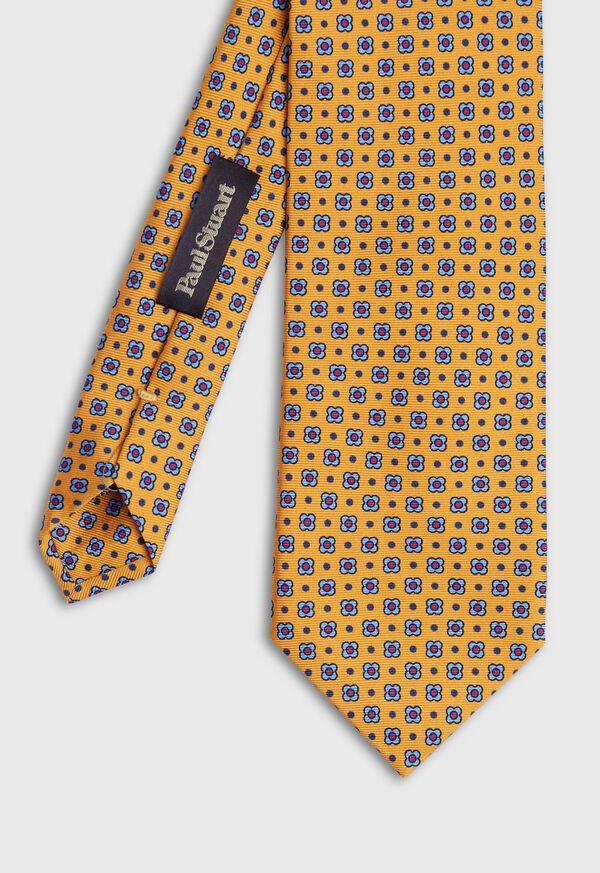 Small Printed Medallion Tie, image 1