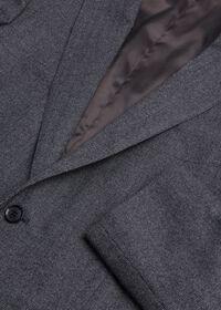 Grey Micro Weave Super 180s Wool Suit, thumbnail 2