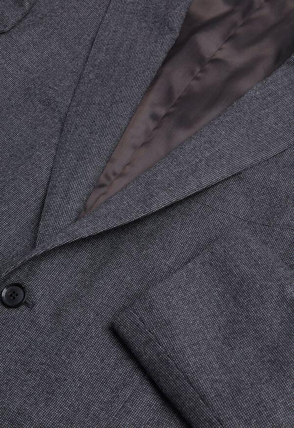 Grey Micro Weave Super 180s Wool Suit, image 2