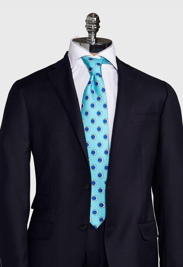 Oval Deco Print Tie, image 2