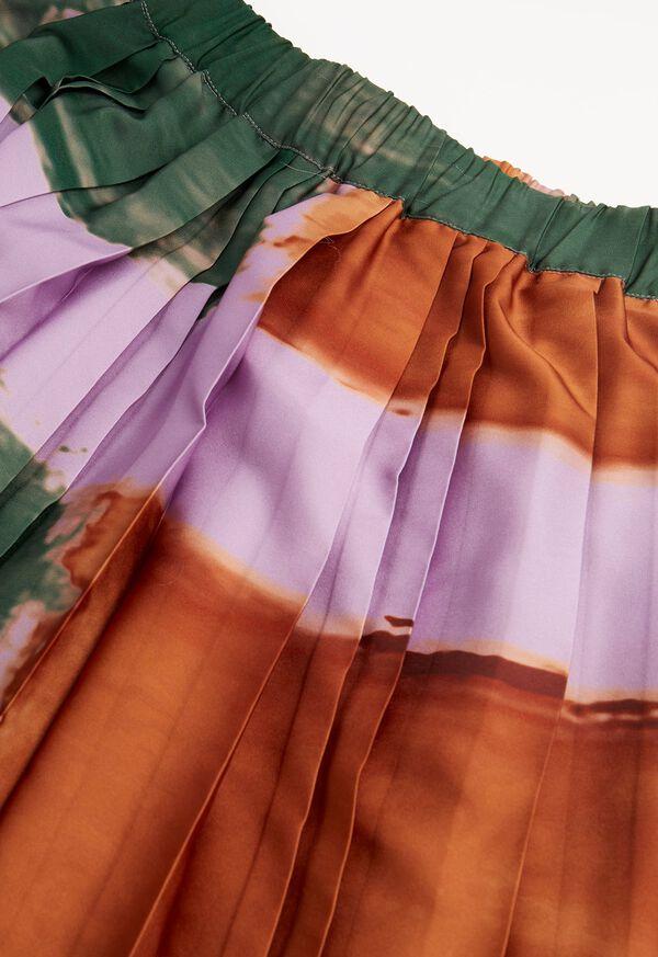 Abstract Print Skirt, image 2