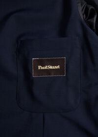 Navy Wool Blend Sport Jacket, thumbnail 3